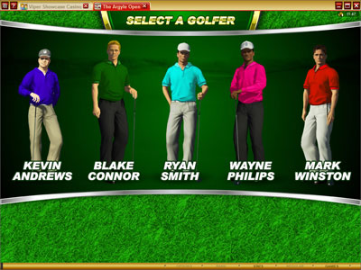 Microgaming Golf Game