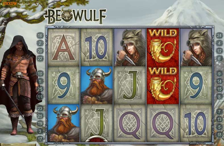 beowulf slots game