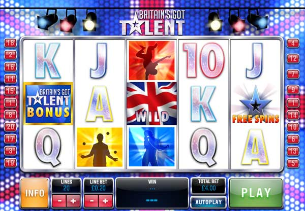 britains got talent online slot