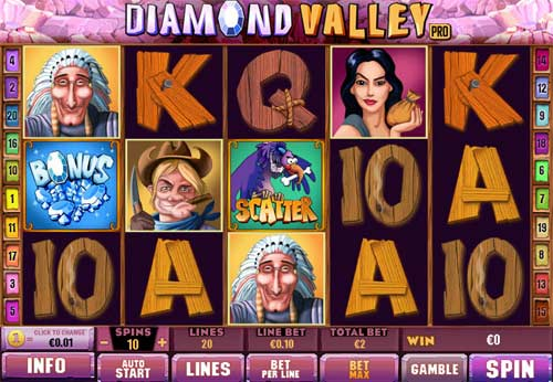 diamond valley pro 2 online slot