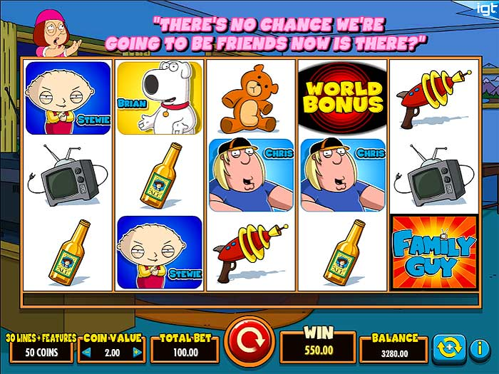 family guy video slot