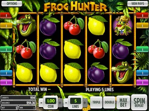 frog hunter Online Slots Game