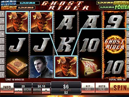 ghostrider playtech slots