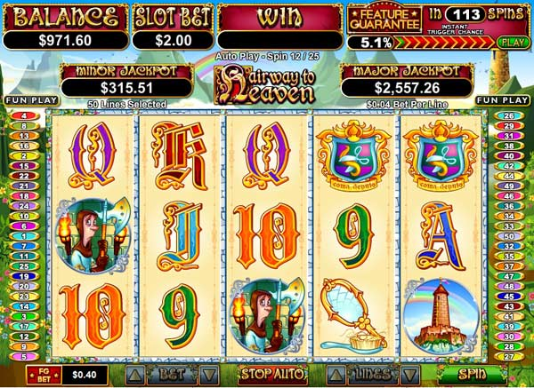 hairway to heaven slot game