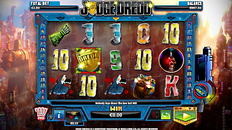 judge dredd online video slot