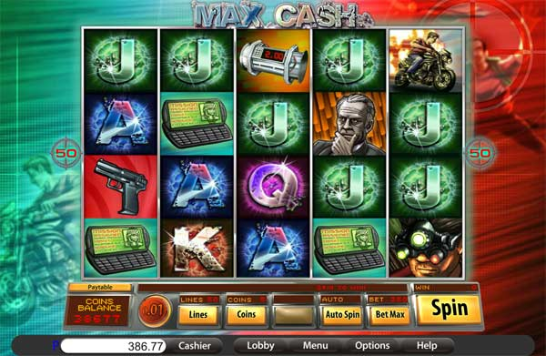 max cash slot machine