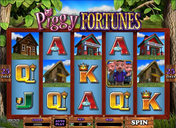 Piggy Fortunes online video slot