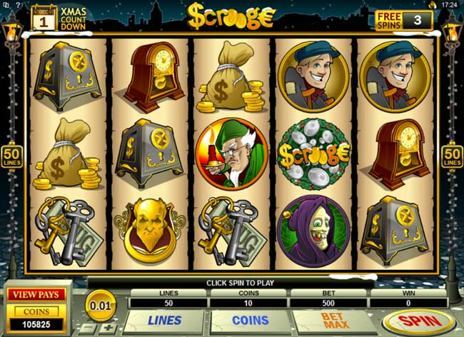 Scrooge Video Slot Game