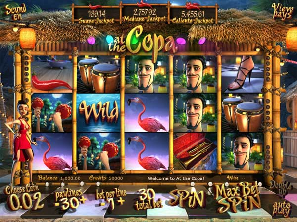 the copa slot machine