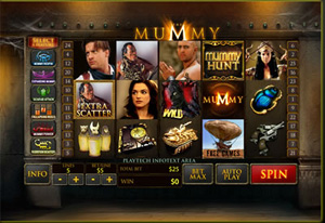 the mummy video slot