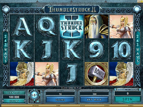 thunderstruck 2 video slot