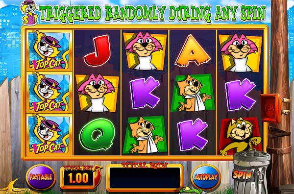 Top Cat Online Slot
