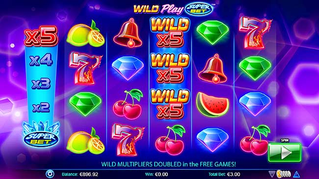 wild play video slot